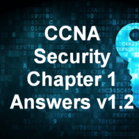 CCNA Security Chapter 1 Answers v1.2